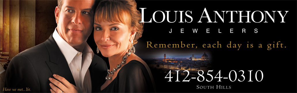 Louis Anthony Jewelers Billboard Feturing Lou and Veronica