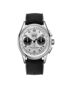 Carl F. Bucherer Heritage BiCompax Annual Watch with Black Rubber Band