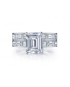 Louis Anthony Jewelers Eternity Set in 18kt White Gold