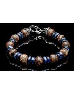 """William Henry """"Enlightenment """" Beaded Bracelet"""