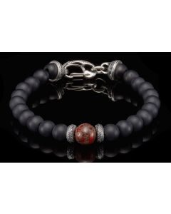 """William Henry """"Gentis"""" Beaded Bracelet"""