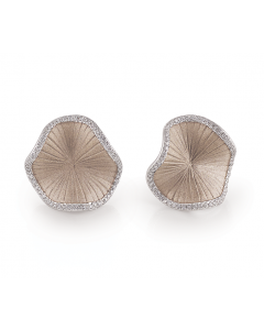 "Annamaria Cammilli ""Sultana"" 18kt Natural Gold Diamond Earrings"