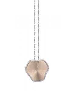 "Annamaria Cammilli ""Sultana"" 18kt Natural Gold Diamond Pendant"