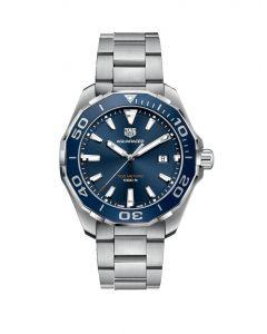 TAG Heuer Aquaracer 300M Steel Blue Bezel Quartz Men's Watch