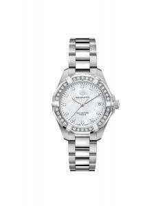 TAG Heuer Aquaracer 300M Steel Bezel Diamond Quartz Watch