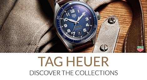 TAG Heuer Men's & Women's Watches: Discover The Collections