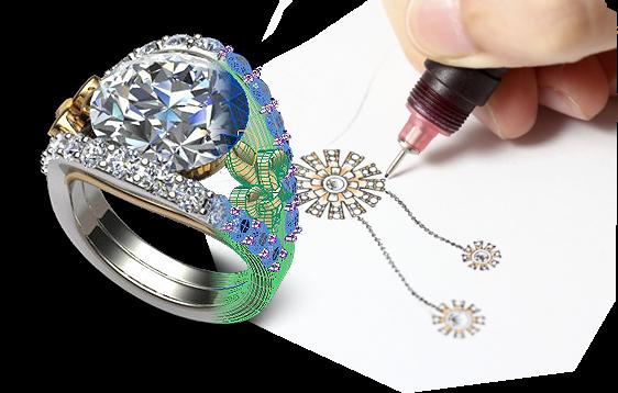 Louis Anthony Jewelers Custom Bridal Jewelry Design